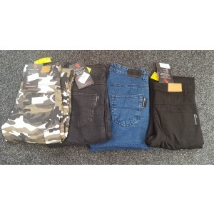 Busa Bikers Gear Motorcycle Kevlar Jeans CE Armour, Clearance Stock