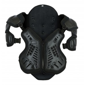Bikers Gear GS-315 The Shield Motorcycle Spine, Chest, Shoulder Protector Armour Vest