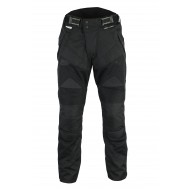 The Carrera Summer Air Mesh Motorcycle Black Trousers CE Armoured 1621-1 Waterproof - Busa by Bikers Gear