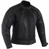 Black Tab Ladies Chicane Motorcycle Air Mesh Jacket CE Armour & Waterproof Liner