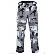 The Platoon Grey Camo Camouflage Waterproof CE1621-1 Armour Vented Motorcycle Trousers - Busa by Bikers Gear