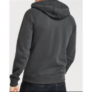 Black Tab CrossFire Hoodie CE approved armour Reinforced with Protective Aramid Lining Motorcycle Grey